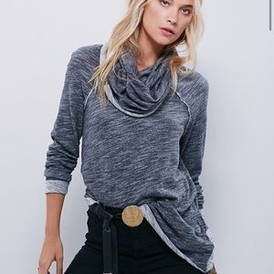 Free People Beach Cocoon Cowl Neck Sweater